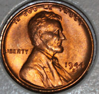 1944-S WHEAT CENT UNCIRCULATED RED [SN17]