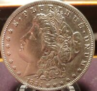 1884 S MORGAN SILVER DOLLAR.LOW MINTAGE.3,2M.KEY DATE.BEAUTIFUL COIN.MIRRORS 19