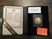 1979 ROYAL CANADIAN MINT 22K $100 GOLD PROOF COIN W/BOX & CO