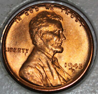 1945-D WHEAT CENT UNCIRCULATED RED [SN07]