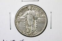 1926-S STANDING LIBERTY QUARTER, LUSTROUS CHOICE EXTRA FINE