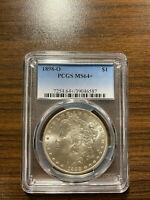 1898-O MORGAN SILVER DOLLAR PCGS MINT STATE 64 PLUS