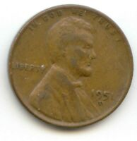 USA 1951D ONE CENT AMERICAN PENNY - 1951 D 1C EXACT COIN SHOWN
