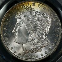 1881-O MORGAN DOLLAR GRADED PCGS MINT STATE 65