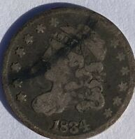 1834 CAPPED BUST DIME,   ESTATE PURCHASE