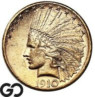 1910 S GOLD EAGLE $10 GOLD INDIAN INVESTMENT PIECE    FREE S