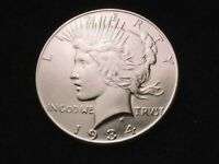 1934 PEACE DOLLAR SUPERIOR KEY DATE DOLLAR COIN   18