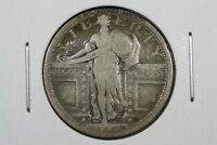 1917-S TYPE 1 STANDING LIBERTY QUARTER,  GOOD