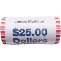 2007 JAMES MADISON PRESIDENTIAL $25 ROLL
