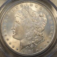 1881-CC MORGAN DOLLAR PCGS MINT STATE 65