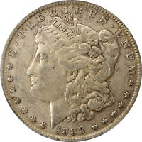 1888 O MORGAN DOLLAR PCGS EXTRA FINE 40 DOUBLE DIE OBVERSE HOT LIPS  TOP 100 VAM 4