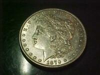 1879 MORGAN DOLLAR  ABOUT UNCIRCULATED  BN49