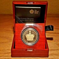 2015 GOLD PROOF COIN GREAT BRITAIN LONGEST REIGNING MONARCH