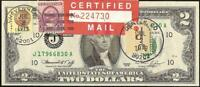 UNC 1976 $2 DOLLAR BILL INDIAN CENT SUSAN B ANTHONY $1 STAMP