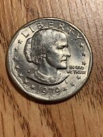 SUSAN B ANTHONY LIBERTY 1979 D ONE DOLLAR  U.S. COIN SHORTAGE PRICE GONNA DOUBLE