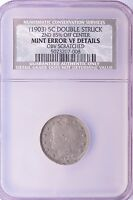 NCS 5C 1903 LIBERTY NICKEL DOUBLE-STRUCK 85 OFF-CENTER VF