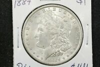 1884 MORGAN DOLLAR,  BU