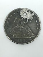 1855 O LIBERTY SEATED SILVER HALF DOLLAR NEW ORLEANS
