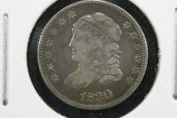 1830 CAPPED BUST HALF DIME,  FINE