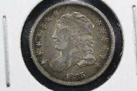 1835 SMALL DATE, SMALL 5 CAPPED BUST HALF DIME,  FINE
