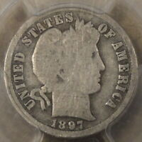 1897-O BARBER DIME 10C PCGS CERTIFIED G4