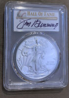 2020 P $1 SILVER EAGLE EMERGENCY ISSUE PCGS MS70 FDOI JIM BUNNING