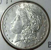 AVAILABLE IS A UNITED STATES 1899 S UNCIRCULATED MORGAN SILVER DOLLAR BU