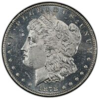 1878 P 7TF REVERSE OF 78 MORGAN DOLLAR VAM 79 HOT 50 MINT STATE 63 CAMEO DMPL ANACS