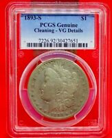 1893 S PCGS VG MORGAN DOLLAR -KING OF THE SERIES, THIS IS AN AFFORDABLE COIN