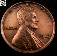 1910 LINCOLN WHEAT CENT CENT // GEM BU RED // W7425
