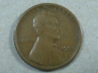 1921-S 1C LINCOLN WHEAT CENT CENT COPPER SHIPS FREE