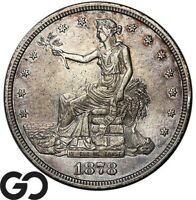 1878 S TRADE DOLLAR HIGHLY DEMANDED SILVER $ SERIES