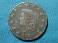 1820 SMALL DATE LARGE CENT