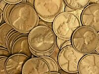 1924-S  LINCOLN WHEAT CENT ROLL50 COINS