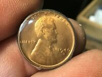 1940-D HIGHER GRADE UNCIRCULATED LINCOLN CENT, 1 COIN