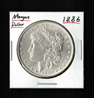 1886 $1 MORGAN SILVER DOLLAR - MINT STATE COIN