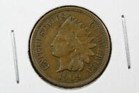 1909 INDIAN HEAD CENT ,EXTRA FINE