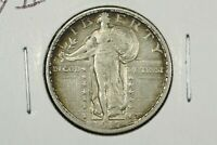 1917 TYPE II STANDING LIBERTY QUARTER, CHOICE EXTRA FINE