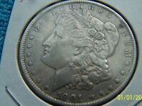 1901-P BETTER DATE  HIGH GRADE - YOU BE THE JUDGE MORGAN SILVER DOLLAR