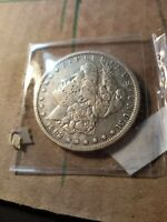 1892 S MORGAN SILVER DOLLAR EXTRA FINE  DETAILS DAMAGE ON FACE STILL A  TOUGH DATE