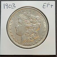1903 MORGAN SILVER DOLLAR EF