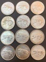 1967 CANADIAN SILVER QUARTERS