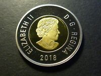 2018 TWO DOLLARS BASE METAL PROOF STRIKE FROM MINT PROOF SET