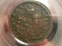 ST PATRICK NEW JERSEY FARTHING MARK NEWBY  NICE DETAILS PCGS