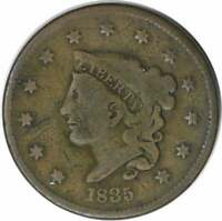 1835 LARGE CENT VG UNCERTIFIED