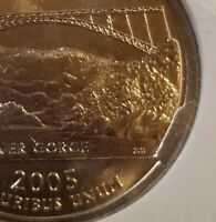 ERROR QUARTERS 2005 P WEST VIRGINIA MAJOR MINT ERROR DIE BREAK NGC MINT STATE 64
