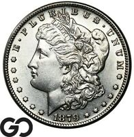 1879 CC MORGAN SILVER DOLLAR UNCIRCULATED   DETAILS SCARCE K