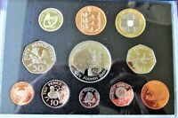 24   GUERNSEY 1997 PROOF COIN COLLECTION   CERTIFACATE OF AU