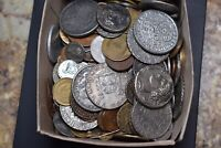 2 POUND BOX OF OLD COINS FORGERIES?