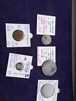 PORTUGUESE COLONIES LOT OF 5 COINS   VERY INTERESSING LOT